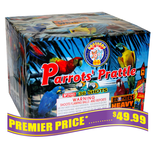 Parrot's Prattle, 36 Shot