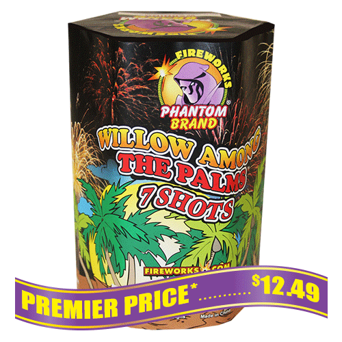 Willow Among Palms 200 gram fireworks repeater