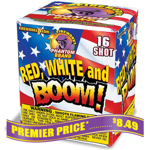 Red, White And Boom!, 16 Shot