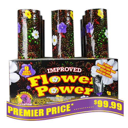 Flower Power, 9 Shot