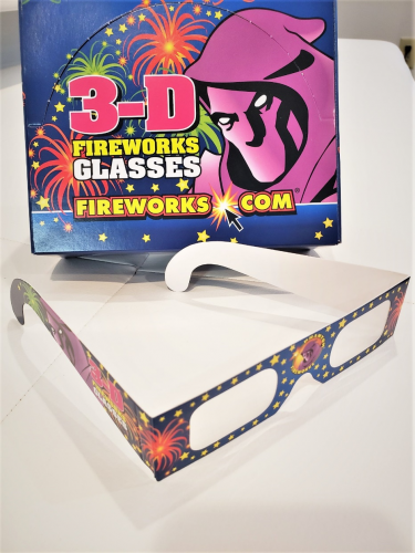 3-D Fireworks Glasses 50 pcs.