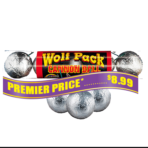 Wolf Pack Cannonball, 5 ct. package