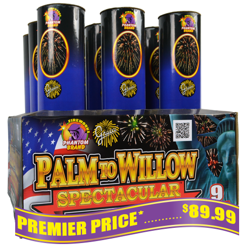 Grucci Palm To Willow Spectacular, 9 Shot