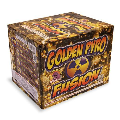 500 Gram Repeater Firework Golden Pyro Fusion