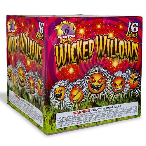 500 Gram Firework Repeater Wicked Willows