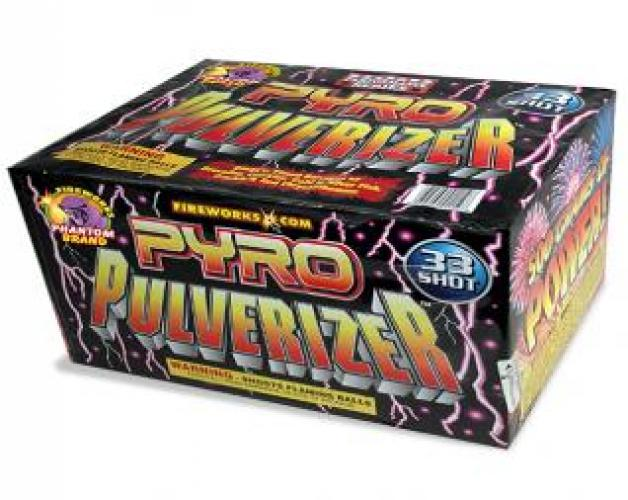 500 Gram Fireworks Repeater Pyro Pulverizer