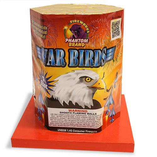 200 Gram Fireworks Repeater War Birds