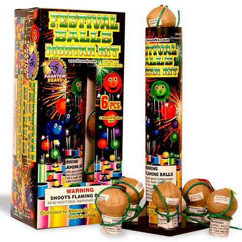 Reloadable Mortars Phantom Small Festival Ball