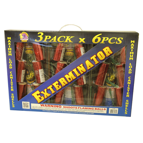 Reloadable Mortars Exterminator Shell Kit