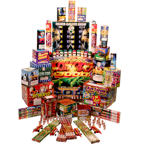Fireworks Assortment Brothers Jumbo Assortment